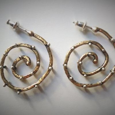 spiral rivetsbrass