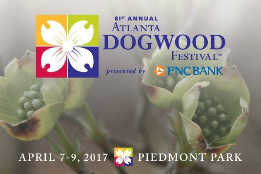 Atlanta Dogwood Festival- April 7-9, 2017