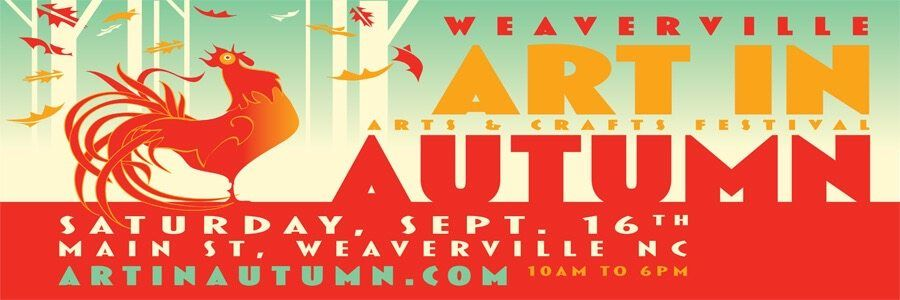 Weaverville art in autumn september 16 2017 jl merrill for Craft shows in nc 2017